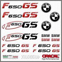 15x kit for F650 GS Black/Red BMW Motorrad ADESIVI PEGATINA AUTOCOLLANT Moto