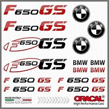 15x kit for F650 GS Black/Red BMW Motorrad ADESIVI PEGATINA AUTOCOLLANT Moto