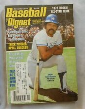 Reggie Smith Los Angeles Dodgers November 1978 Baseball Digest