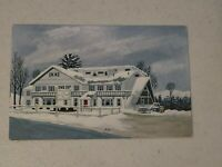 Vintage Postcard - Vermont - The Gray Ghost Inn West Dover VT Posted #813
