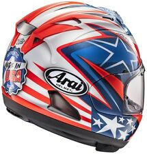 Arai Corsair X Nicky 7 FREE Dark lens or Ship option motorcycle helmet Hayden XL
