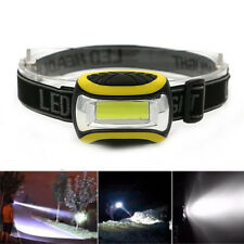 Super Bright Waterproof Outdoor COB LED 3 Modes Headlamp AAA Flashlight