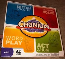 Cranium 3-in-1 Game 600 Cards Family Clay Hasbro 2009