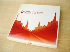 City Lounge 3 Box Set 4 x CD Bonobo DJ Cam The Big Knife Roy Ayers Wagram 2007