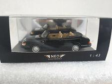 SAAB 900 Cabrio Black 1987  1/43 Neo Scale 43567