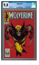 Wolverine #17 (1989) Classic John Byrne Cover CGC 9.8 EB021