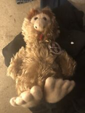 "Animal Fair Vintage 1977 Big Foot Sasquatch Plush Bigfoot Toy Doll with Tag 14"""