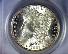 ANACS MS65 BEAUTIFUL ALLIGATOR EYE 1887 TOP 100 VAM 12A MORGAN SILVER DOLLAR