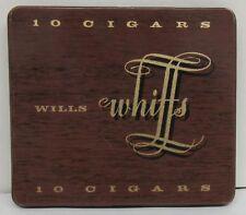 Wills Whiffs 10 Cigars Metal Cigar Tin - empty