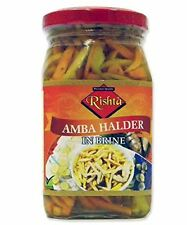 Rishta - Amba & Halder (fresh turmeric ) in Brine - 400g