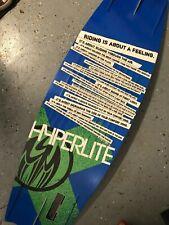 "New listing Hyperlite 3.2"" continuous rocker 138 Shaun Murray Pro Model SBM 10 Wakeboard"