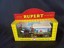 LLEDO 11026 DAYS GONE HORSE DRAWN REMOVAL VAN RUPERT THE BEAR COLLECTION BOXED