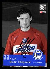 Kevin Stuhr Ellegaard Autogrammkarte Hertha BSC Berlin 2005-06 Original+A 105440