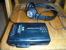 Emerson Ac2126Cs Am Fm Stereo Radio Cassette w/Jbl E30 headphones