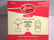 2C-HG Peerless 100 Sock Style Mantles  (25)4 packs A Box Delivered & Tracking