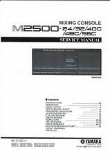 Yamaha Service Manual  für M 2500