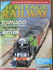 HERITAGE RAILWAY THE COMPLETE STEAM NEWS MAGAZINE ISSUE 125 JUNE 11 2009