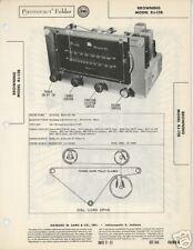 Browning Model Rj-12B Tuner Sams PhotoFact Tech Docs