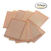 10 pcs 5x7 Prototype Paper Copper PCB Universal Experiment Matrix Circuit Board