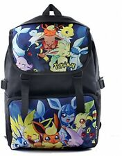 Bonamana Cartoon Pokemon Pikachu Backpack Anime School Bag Rucksack For Teens