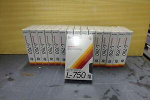 Beta Sony dynamicron L-750 Nuevas sin abrir