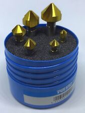 Presto 6pc Elite Plus 90º Countersink set, Sizes; 6.3, 8.3, 10.4, 16.5 & 20.5mm