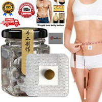 30/60/90PCS Herbal  Belly Slimming Tummy Pellet Stickers For Men And Women.