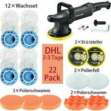 700W Profi Exzenter  Poliermaschine Auto Polisher DA 150mm Pads Set