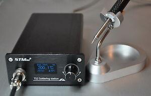 OLED Soldering Iron Station Temperature Controller + Handle + Stand F HAKKO T12