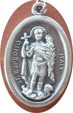 Saint St. Espedito Expedite Expeditus Medal + Timeliness Against Procrastination