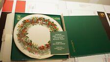 Lenox Colonial Christmas Wreath Plates Full Set