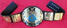 WWF Attitude Era Scratch Logo BIG EAGLE World Heavyweight Championship Belt
