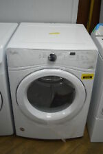 """Whirlpool Wed7590Fw 27"""" White Front Load Electric Dryer Nob #37346 Mad"""