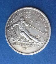 Jeux Olympiques LILLEHAMMER 1994 , Jeton En Argent