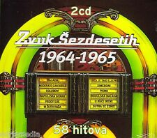 Zvuk Sezdesetih 2 CD 1964 - 1965 Croatia Kroatien Hrvatska 58 Hitova Tereza Miki