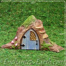 Miniature World Opening Tree Trunk Fairy Door