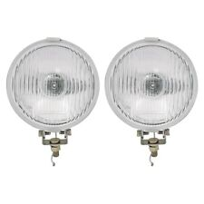 "Classic Mini Lamp set - 5.5"" Fog chrome lamps - Base mounting - Wipac S6078 NEW"