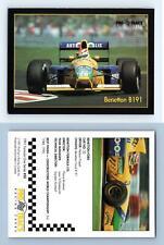 Benetton B191 #50 Formula 1 Pro Trac's 1991 Premier Racing Card