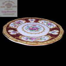 Royal Albert LADY HAMILTON Side / Cake / Bread Plate 16cm EC England 1st c1940's