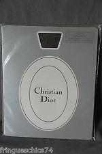medias poliamida seda marrón CHRISTIAN DIOR PITILLO 15 talla 9 (2) NUEVO/BLÍSTER