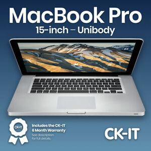 """Apple MacBook Pro 15"""" i7 2GHz  500GB  8GB  Warranty  ref P5"""