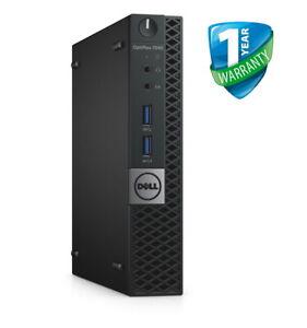 Dell OptiPlex 7040 Micro PC Core i5 6th Gen 8GB RAM 240GB SSD Windows 10 Pro