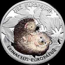 Poland Hedgehog Eж Igel 猬 Mintage only 199pcs VERY RARE Color