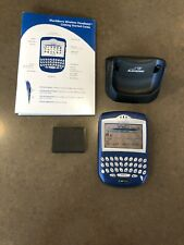 BlackBerry 7210 With Extra Battery And Stand. Vintage!
