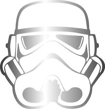 Window Wall Vehicle Display Star Wars Storm Trooper Helmet Decal Vinyl Sticker
