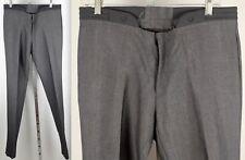 New mens sz 48 / US 32 Calvin Klein Collection gray runway pants