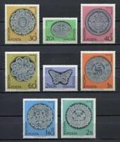 32184) Hongrie 1964 MNH Halas Lace, Dentelle 8v
