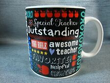 Favorite Teacher Big Coffee Tea Mug Cup Teacher Gift