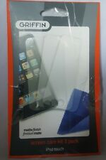 Griffin GB1474 screen protector and cloth for ipod touch 2g matte NEW