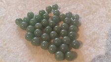 20 Aventurines grosses perles semi-précieuses